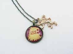 Game of Thrones House Lannisters Necklace Lion Pendant & by Taypop