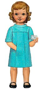 school photo dress sewing pattern (paper)