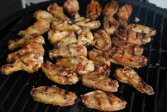 Chicken Wings on The Big Green Egg by Necessary Indulgences, via Flickr