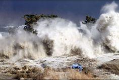 The incredible power of a Tsunami