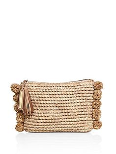 Loeffler Randall Tassel Raffia Pouch - 100% Exclusive Amazing Price For Sale Free Shipping Wide Range Of Free Shipping Perfect Cheap Real Cheap Sale For Nice OIhgaa