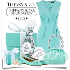 TIFFANY BLUE CONTEST by drenise, via Polyvore