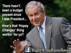 "Sure do miss having a President!  Instead, we got a ""Speaker"" that's full of crap!"