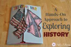Civil War - Exploring History through Activities (+ giveaway!)