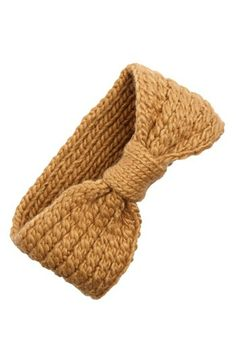 cold weather essentials: Cable Knit Head Wrap available at #Nordstrom