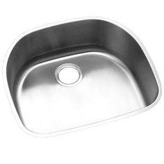 Elkay EELUH211810 Lustertone Stainless Steel Undermount - Single Bowl Kitchen Sink - Stainless Steel