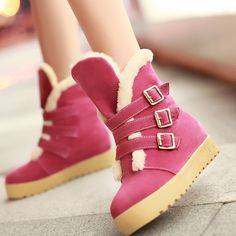 Aliexpress.com : Buy New 2013fashion lady boots winter warm boots casual flat boots snow boots 4 color large size 34 43 from Reliable boots suppliers on ENMAYER CO., LIMITED $64.12 - 68.12