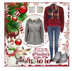 """Winter Magic"" by summer-marin ❤ liked on Polyvore featuring Steve Madden, 7 For All Mankind, Giuseppe Zanotti, Topshop, Accessorize, House Doctor, Kate Spade and St. Nicholas Square"