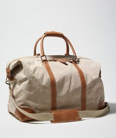 Waxed-Canvas Weekender: BAGS   Free Shipping at L.L.Bean