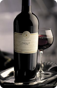 Merlot red wine. Learn more about the types of red wine.   via #BornToBeSocial - Pinterest Marketing