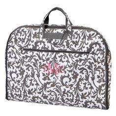 Garment Bag Grey Fl