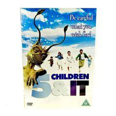 Five Children And It (DVD, for sale online Eddie Izzard, Freddie Highmore, Wish, Fairy, Amp, Magic, Children, Movie Posters, Movies