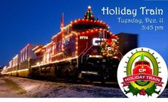 Holiday Train: Making a difference, one stop at a time Cottage Grove, MN #Kids #Events