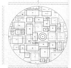 Floor plan of 21st Century Museum of Contemporary Art