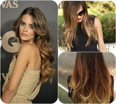New Hair Colors 2014: Sombré for a Softer Transition black Sombré hair colors