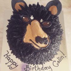 Bear Birthday Cake Bear Birthday, Birthday Cake, Cupcake Cakes, Cupcakes, Sweet, Candy, Birthday Cakes, Cup Cakes, Cupcake