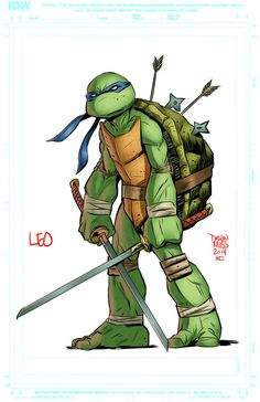 Leonardo by kotecarvajal on DeviantArt