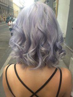 short pastel hair