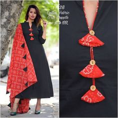 Different types of necklines to try in your Kurtis.Kurta Neck Design for Kurti neck designs.Trendy neck patterns to try in Salwar Designs, Kurta Designs Women, Kurti Designs Party Wear, Salwar Kameez Neck Designs, Chudidhar Neck Designs, Neck Designs For Suits, Neckline Designs, Blouse Neck Designs, Kurti Sleeves Design