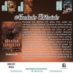 El Pozo de la Ascensión (Mistborn #2) de Brandon Sanderson
