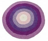 Crochet fabric mat in purple by Sebra Crochet Mat, Crochet Fabric, Hand Crochet, Hallway Carpet Runners, Diy Carpet, Carpet Ideas, Circus Theme, Baby Shop, Kids Room
