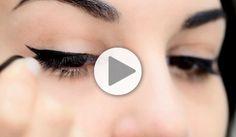 Tuto : un trait d'eyeliner parfait en 3 étapes