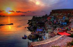 Popeye's Village, Anchor Bay, Malta