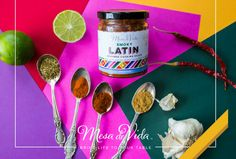 This sauce is where it all began for us. We love Latin cuisine. The smoky, nuanced spices of Spain, the bold and bright flavors of Mexico, the clean and simple cuisine of Costa Rica and, definitely, the sassy sazon of the Dominican Republic. We simply couldn't decide a favorite, so we created a sauce to capture bold tastes from each cuisine.  Find out more about this sauce at www.Facebook.com/MesadeVida  Launching November 2016! Sign up for updates at www.MesadeVida.com!
