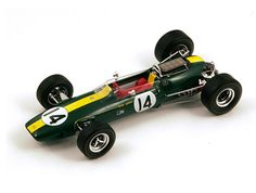 Spark s1156 Brm P261 # 8 Winner Monaco Gp 1964-Graham Hill 1//43 Escala