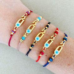 Adjustable Knot, Adjustable Bracelet, Bracelet Clasps, Cord Bracelets, Good Luck Bracelet, Dainty Bracelets, Stocking Fillers, New Year Gifts, Lucky Charm