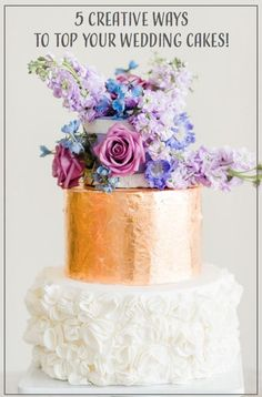 5 Creative Ways to Top Your Wedding Cakes! http://www.ebay.com/gds/5-Ways-to-top-your-cakes-in-style-/10000000205306301/g.html?roken2=ti.pQ3Jpc3N5IEFycGllIE90dA==