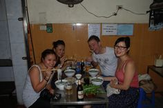 Hanoi Street food tours    Joanne's family by tuvancong2003, via Flickr