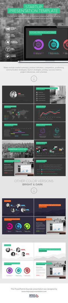 Your pitch deck matters. It speeds up your capital raise and protects your price. Save your time and energy with this amazing template available for Powerpoint & Keynote. #powerpoint #template #presentation templates  www.improvepresentation.com