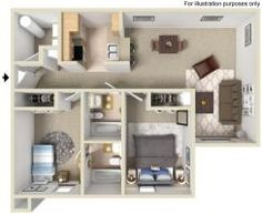 Two Bedroom Apartment Communities, Two Bedroom, Apartments, Entryway, Floor Plans, Flooring, Furniture, Home Decor, Entrance