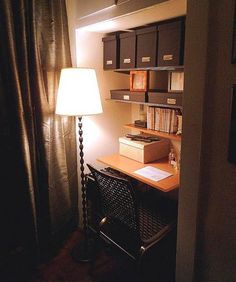 Work Around: Closets as Offices