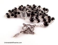 St Michael The Archangel Rosary Beads For by unbreakablerosaries