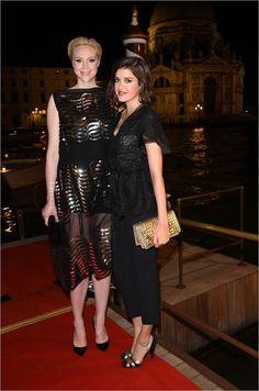 Vanity Fair Party: Venice Film Festival. Guests photo gallery - Fiesta de Vanity Fair: Festival de Cine de Venecia. Fotos de los invitados #events #luxury #eventos #lujo