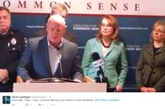 Mark Kelly pushes new gun control group in NH while lying about gun stats