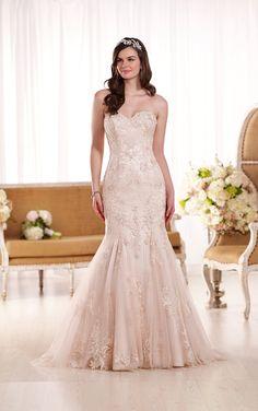 Embroidered Lace Wedding Dress   Essense of Australia