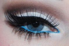 Love it.. Especially the blue eyeliner