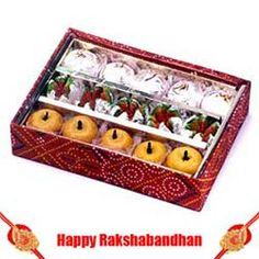 500 gms. Sweets n Rakhi