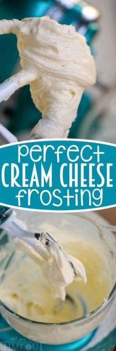 Perfect Cream Cheese Frosting recipe plus tips and tricks for the creamiest frosting ever!