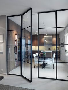 Interior french doors add a beautiful style and elegance to any room in your home. Interior Door, Interior Design, Kitchen Interior, Steel Doors, Scandinavian Interior, Innovation Design, Windows And Doors, French Doors, Interior Architecture