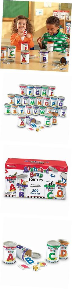 Other Alphabet and Language Toys 11732: Alphabet Soup Sorters Learning Game, Language Educational Toy -> BUY IT NOW ONLY: $62.12 on eBay!