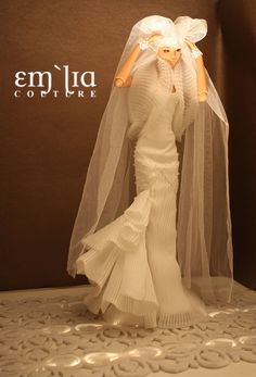 The Horned Bride - emiliacouture commission for Numina Devon