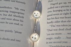 Harry Potter Inspired Earrings With Stars  via Etsy.