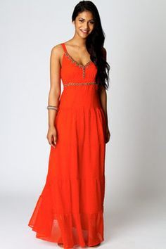 My style ;-) Pinner says: Cute maxi from boohoo with 10% cash back