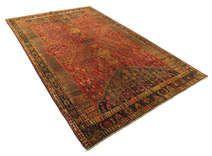 Colored Vintage tæpper er fremstillet af ældre tyrkiske tæpper, som er mindst 20-50 år gamle.  Hvert tæppe er omhyggeligt udvalgt og gennemgår en unik proces med farveneutralisering, før det bliver overfarvet i en spændende, ny farve.