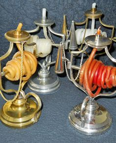 Wax Jack all made alike except they are all made of different metals,_Judith Walker's Collection
