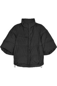 JIL SANDER Cropped shell down jacket. #jilsander #cloth #jackets